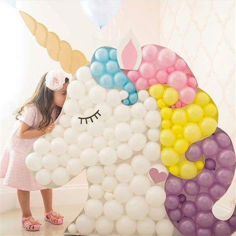 Ideas para decorar una fiesta de cumpleaños de unicornios ...