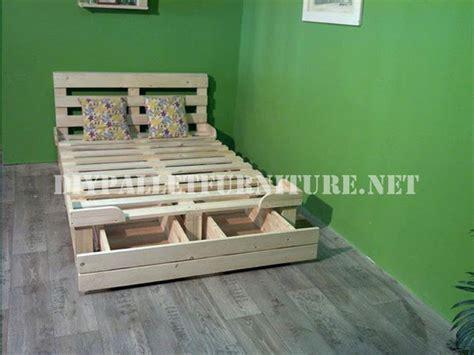 Ideas para hacer muebles reciclados – cama con palets ...