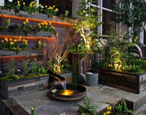 ideas para jardines verticales en terrazas | Planos de ...