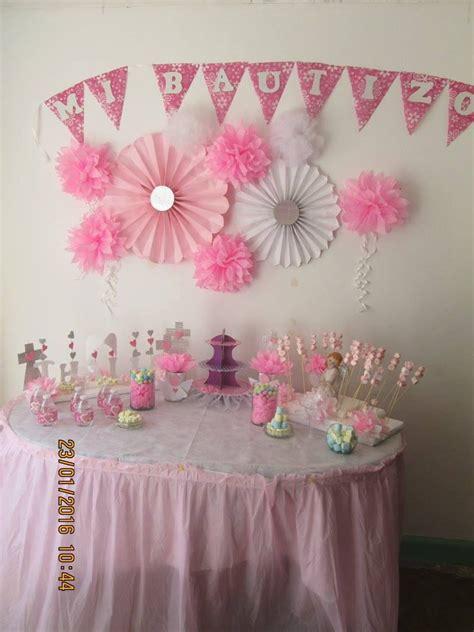 ideas para mesa de dulce...bautizo de niña | arreglos para ...