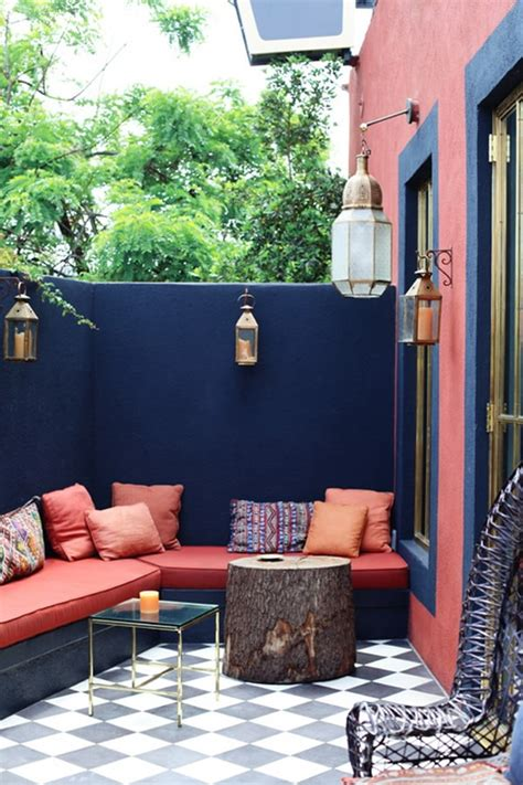 Ideas para patios pequeños. Decoración de jardines pequeños.