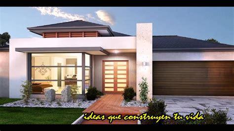 Ideas para tu casa. FACHADAS DE EXTERIORES.   YouTube