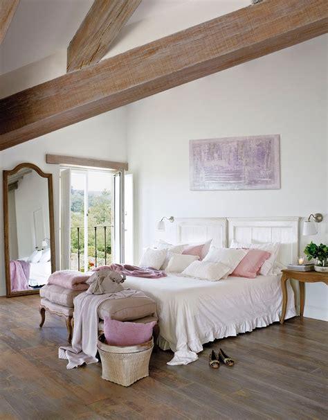 Ideas para un dormitorio de inspiración rústica