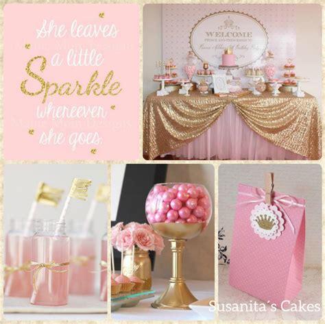 Ideas para una fiesta en colores Rosado y Dorado ...