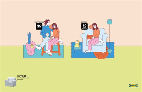 IKEA Print Advert By Iris: Boyfriend | Ads of the World™