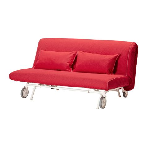 IKEA PS LÖVÅS Sofá cama 2 plazas   Vansta rojo   IKEA