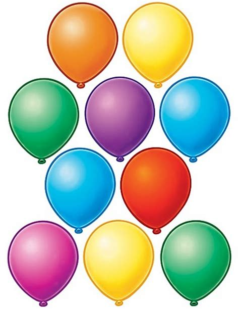 Imagen de globos para recortar