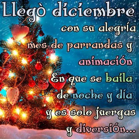 Imagenes Con Frases Para Dar La Bienvenida a Diciembre ...