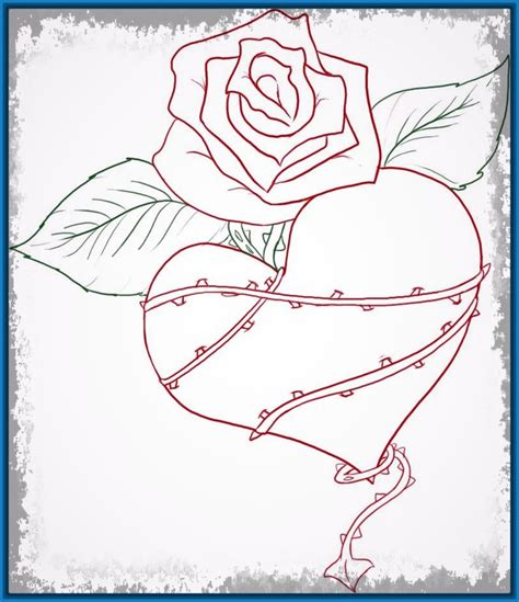 imagenes de amor para dibujar a lapiz faciles con frases ...