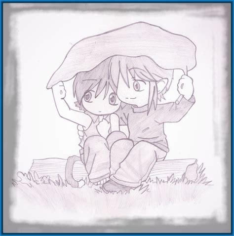Imagenes De Amor Para Dibujar Con Lapiz Faciles   Dibujos ...