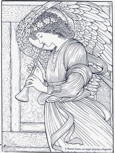 Imagenes de angeles para colorear para niños | Diciembre ...