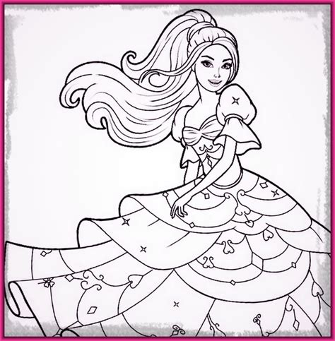 imagenes de barbie para pintar e imprimir Archivos ...