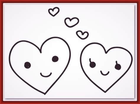 imagenes de corazones con frases de amor para colorear ...