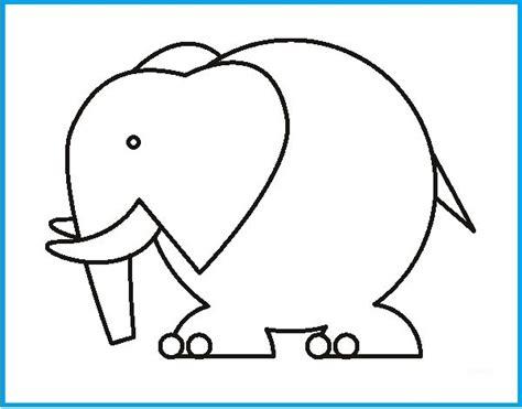 Imagenes De Elefantes Para Dibujar e Imprimir | Imagenes ...