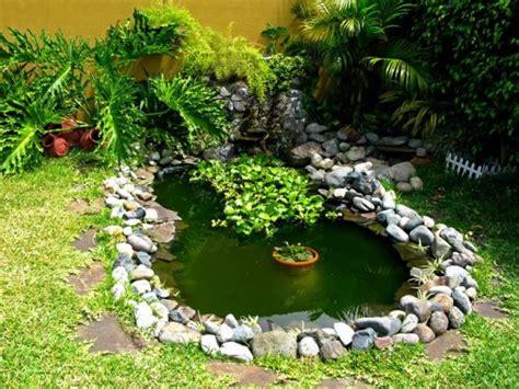 Imágenes de jardines pequeños con diseños