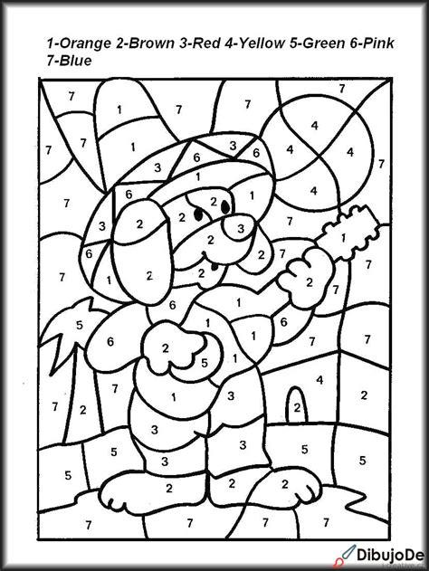 Imágenes de juegos para colorear para niños   Dibujos De
