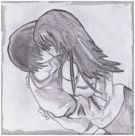 Imagenes De Parejas Para Dibujar A Lapiz   Dibujos de Amor ...