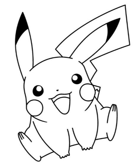 Imagenes De Pikachu Para Dibujar Y Descargar Gratis ...