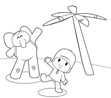Imágenes de Pocoyo para Colorear y dibujar   Dibujos De