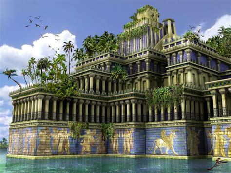 IMÁGENES ESPECTACULARES.: Jardines Colgantes de Babilonia.