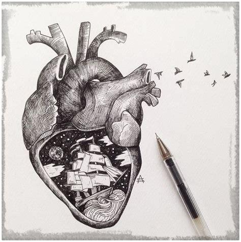 Imagenes Para Dibujar A Lapiz De Corazones   Dibujos de ...