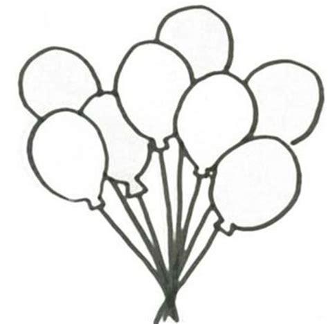 Imagenes y dibujos de globos para colorear para cumpleaños ...