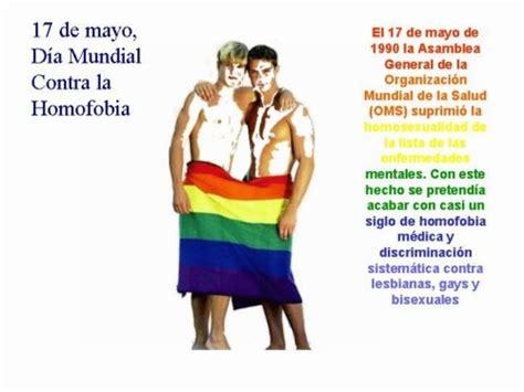 Imágenes y frases para el 17 de Mayo: Día contra la Homofobia