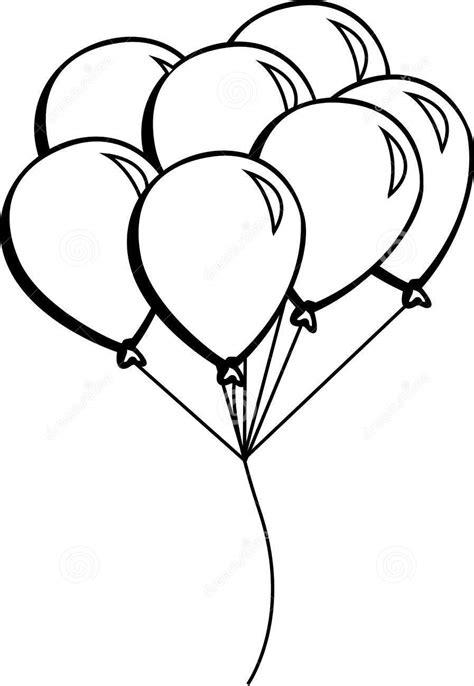Imagens de balões para imprimir e colorir   Educação Online
