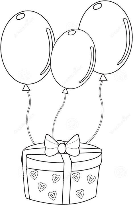 Imagens de balões para imprimir e colorir   Fichas e ...