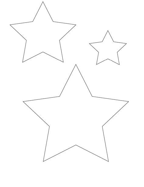 Imprimir Estrellas para Colorear en Diferentes Diseños