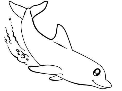 Imprimir gratis dibujos para colorear – delfines