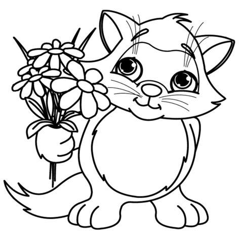 Increíble Dibujos Para Colorear De Flores Grandes