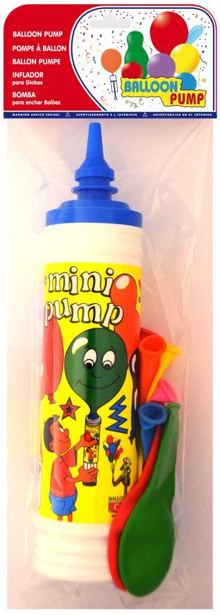 Infladores para globos de varios colores en Comercial Persan