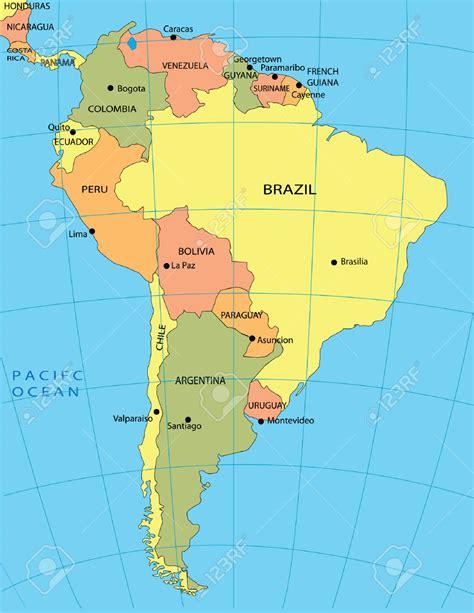 Información e imágenes con Mapas de América Político y ...