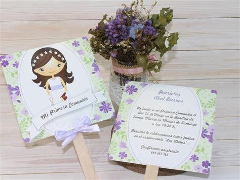 Invitación comunión niña Pay | recordatorios de comunion ...
