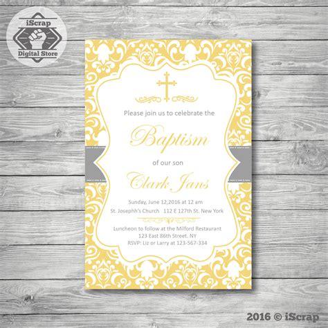 Invitación de bautizo, primera comunión invitación niño o ...
