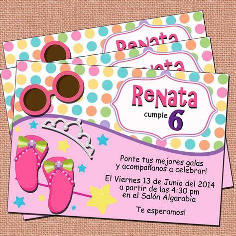 Invitaciones Princesas fiesta Princesas niñas princess ...