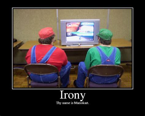 irony examples MEMEs