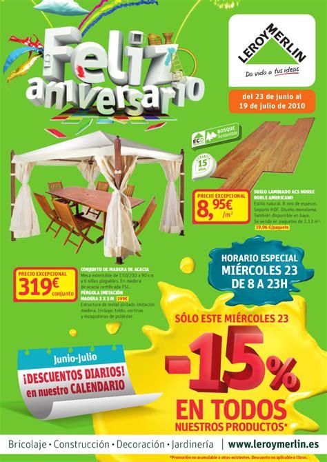 ISSUU   Aniversario con horarios by Leroy Merlin España