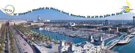 Ja et pots inscriure al Simposi Mundial de Música Coral ...