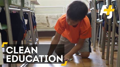 Japanese Students Clean Classrooms To Learn Life Skills ...