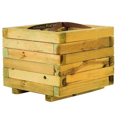Jardinera de madera BAROQUE CUADRADA Ref. 16137632   Leroy ...