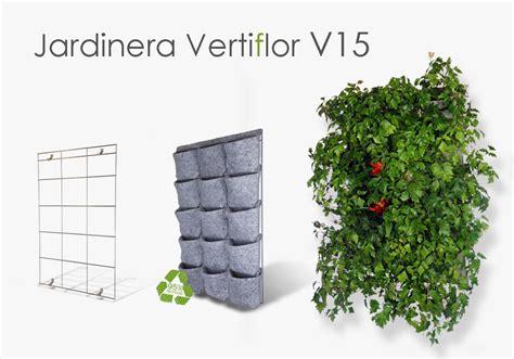 Jardinera vertical Vertiflor V15. Tu jardín vertical en casa.