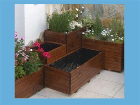 Jardineras de madera paso a paso | Bricolaje
