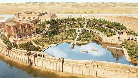 Jardines colgantes de Babilonia   Maravillas del Mundo