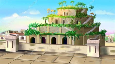 jardines colgantes de Babilonia — Foto de stock © zarevv ...