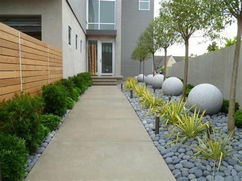 jardines modernos decorados con piedras   Arquitectura ...