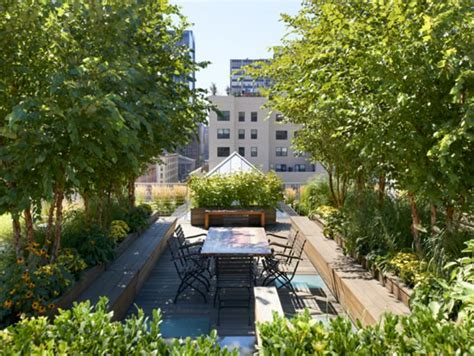 Jardines urbanos en las terrazas de Nueva York