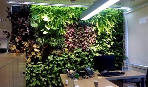 Jardines Verticales de interior F+P en Madrid