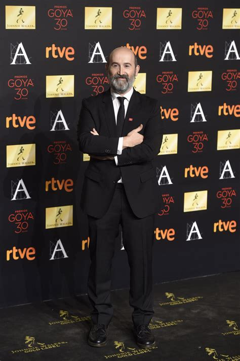 Javier Cámara en la cena de los nominados a los Goya 2016 ...